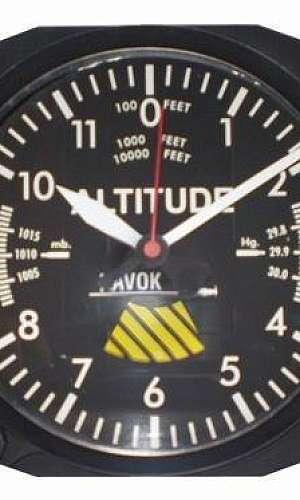 altímetro aeronáutico