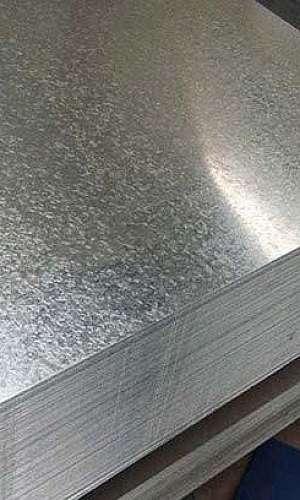 Aluguel de chapa de aço galvanizado