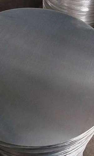 Disco de alumínio matéria prima