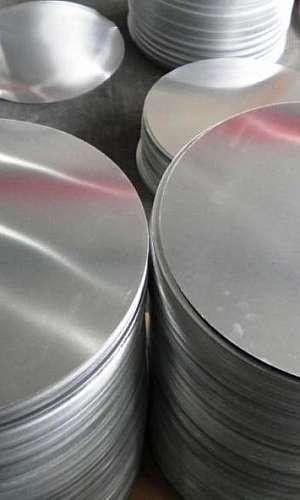 Disco de alumínio para repuxo