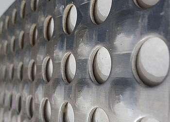 Chapa de aluminio lavrada xadrez