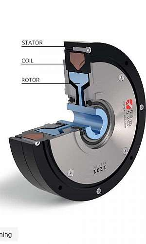 Freio eletromagnético a disco