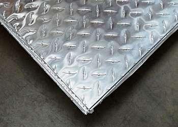 Placas de alumínio para portão