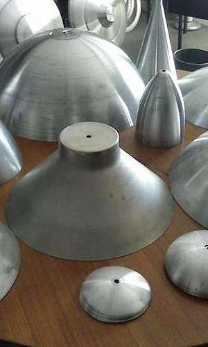Repuxação alumínio