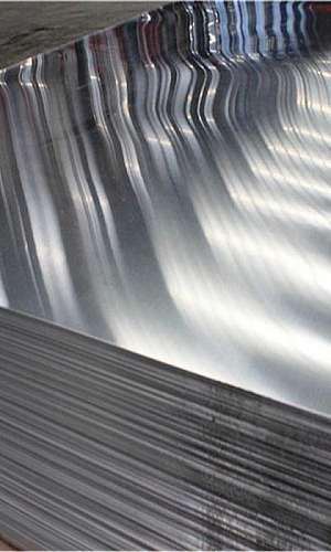 Venda de chapa de alumínio